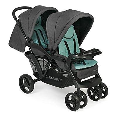 CHIC 4 BABY 273 65 Doppio - Carrito convertible, color verde menta