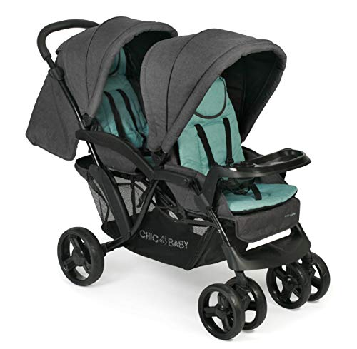 Carrito convertible, color verde menta CHIC 4 BABY 273 65 Doppio