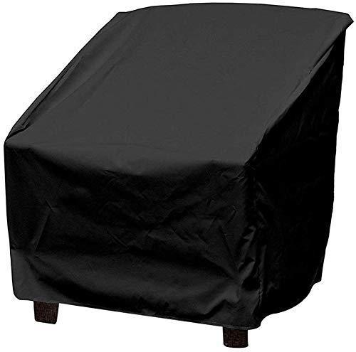 Funda para sillón a prueba de polvo, cubierta para muebles de jardín al aire libre, cubierta de polvo de 27 pulgadas, cubierta de mesa de patio, cubierta ligera para muebles de jardín (1 unidad)