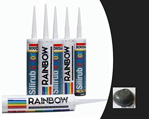 Build With Colour RAL7016 Ral Silikondichtung - Anthrazit, 310ml tube