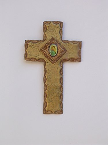 Unique Wall Cross with Madonna & Child