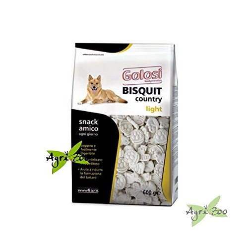 CIBO Alimento per CANI Bisquit COUNTRY - Light 600 GR. BY ZODIACO GOLOSI Food Generation