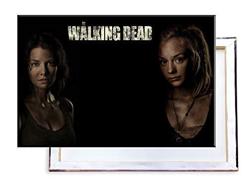 Unified Distribution The Walking Dead - 120x80 cm Kunstdruck auf Leinwand • erstklassige Druckqualität • Dekoration • Wandbild