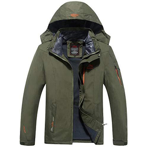 W.zz M?nner Sportswear Hooded Softshell Outdoor Regenmantel wasserdichte Jacke Mantel Camping Angeln Jagd Arbeitsjacke,B,8XL