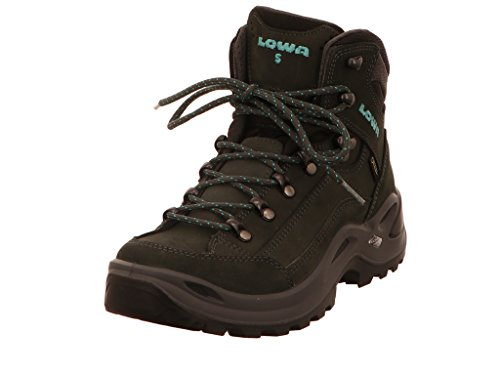 Lowa Renegade GTX MID S Women - Anthracite/Turquoise