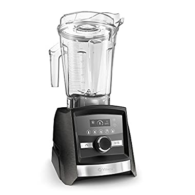 Vitamix A3500 Ascent Series Smart Blender, Programmable w/Built-in Wireless Connectivity, Professional-Grade, Graphite