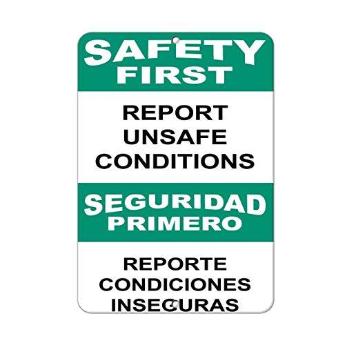 WENNUNA Veiligheid Eerste Verslag Onveilige Voorwaarden Gevaar 8