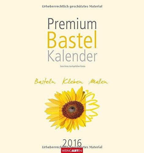 Bastelkalender champagner 2016