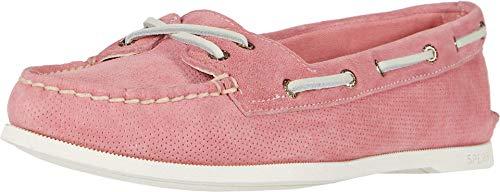 Sperry Zapatos de barco Skimmer originales para mujer, rojo (Coral/Lluvia Tropical), 40 EU