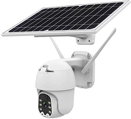 1080 p Wifi PTZ cámara al aire libre con energía solar PTZ cámara de seguridad IP con visión nocturna de color 2 vías Audio detección de movimiento para seguridad en el hogar