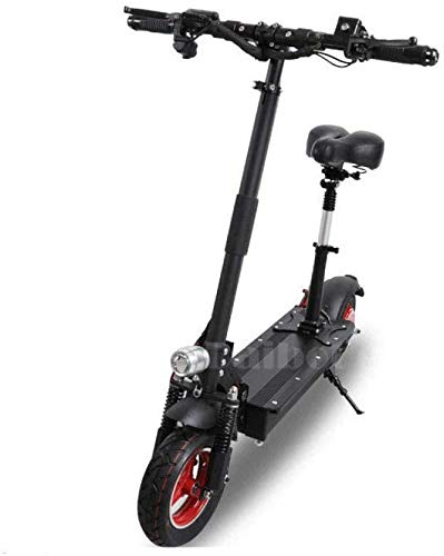 XINHUI Scooter eléctrico Plegable de Dos Ruedas Scooter eléctrico 10 Motor único 1000W48V Portátil