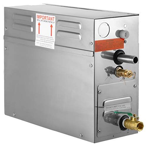 Happybuy 7 KW Steam Generator 220V Sauna Steamer with Waterproof Programmable Controls for Home SPA Bathroom Hotel Shower Bath (7KW-1)