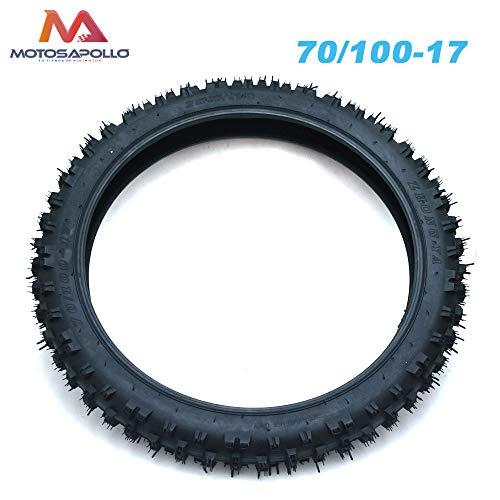 Neumático delantero pit bike 70/100-17