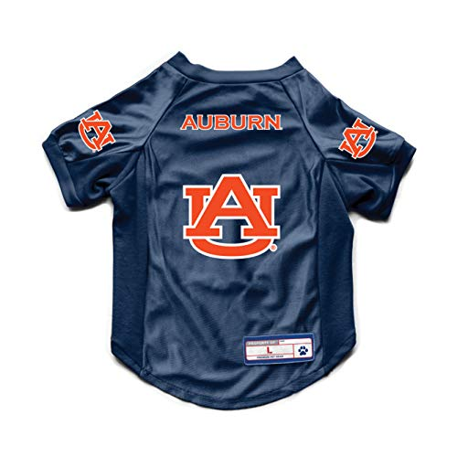NCAA Auburn Tigers Pet Stretch Jersey, Large