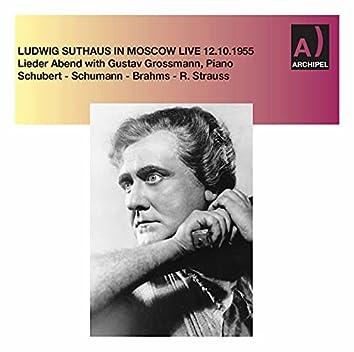 Schubert, Schumann & Others: Vocal Works (Live)