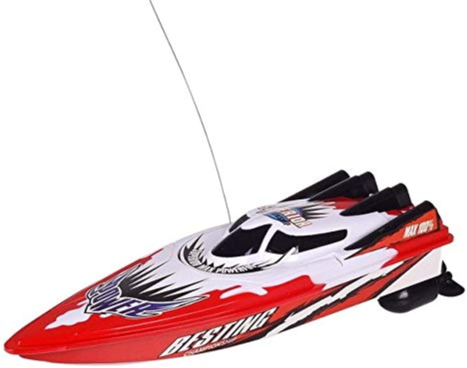 LySanSan  New Radio Remote Control Dual Motor Speed Boat RC Racing Boat HighSpeed Strong Power System Fluid Type Design