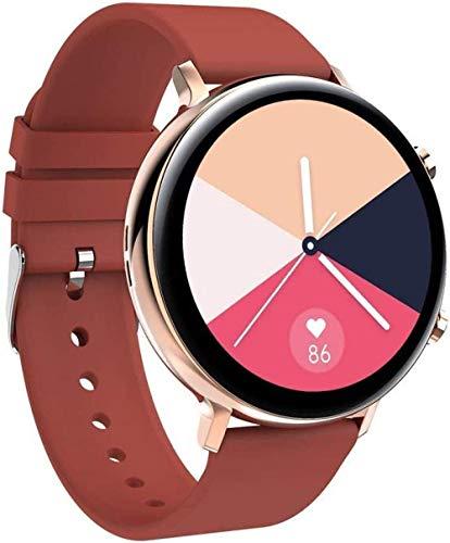 JIAJBG Smart Watch, Reloj de Llamada Bluetooth de la Moda de 1.28 Pulgadas, Seguimiento de la Salud Del Seguimiento de la Salud, el Recordatorio de Inforión de la Llamada Pulsera De