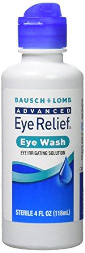 Bausch & Lomb Advanced Eye Relief Eye Wash, 4 Fl Oz, Pack of 3