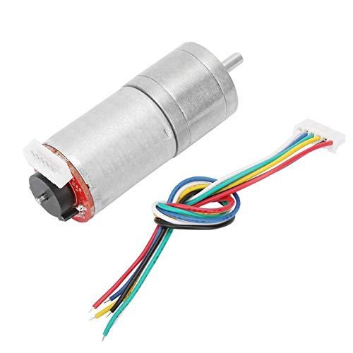 Motor de engranaje de gusano de DC, caja de engranajes de gusano conveniente de la estructura simple para la impresora (velocidad 60)