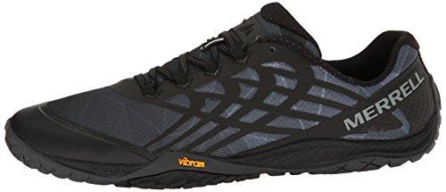 Merrell Men's Trail Glove 4 Runner, Black, 10 M US