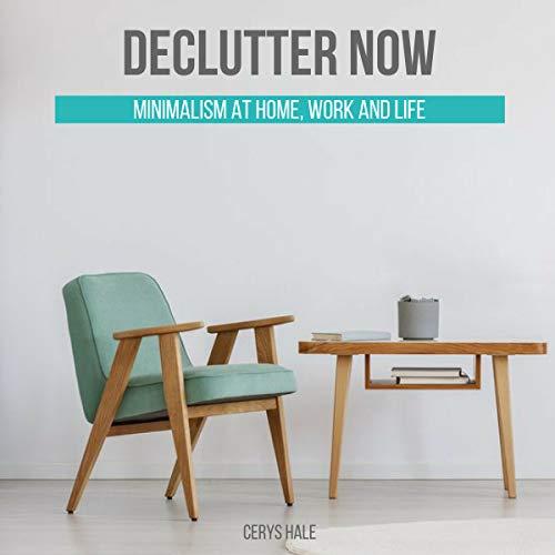 Declutter Now audiobook cover art