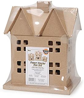 Best paper mache christmas village houses Reviews