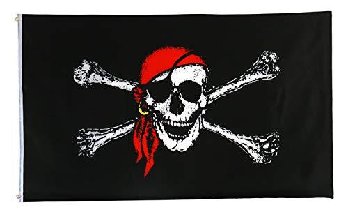 Star Cluster 90 x 150 cm Pirate Flagge Fahne (Pirate 90 x 150 cm)