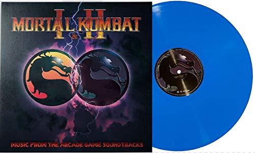 Mortal Kombat I & II - Music From The Arcade Game Soundtracks (Limited Edition Sub Zero Blue Vinyl)