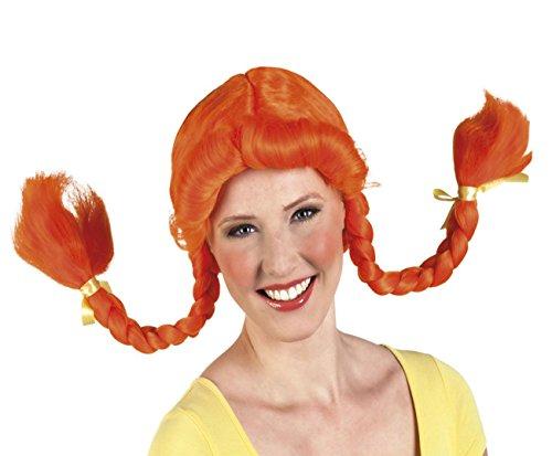 Orange Wig for women (perruque)
