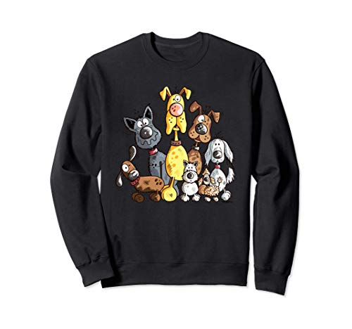 Funny Hundehaufen I Hunde Team I Hund Geschenk I Hund Fun Sweatshirt