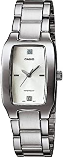 ساعة كاسيو النسائية المصنوعة من المعدن - LTP-1165A-7C2DF] (CN) (ابيض)