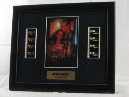 Filmcells Star Wars Attack of Clones Double Framed Art image