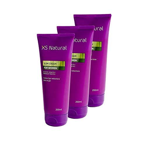 3 XS Natural Crema Lipo-reductora Mujer