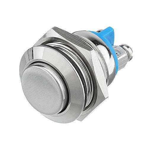 SupLucktar AC 250 V 3A 16 mm impermeable interruptor de cierre automático interruptor