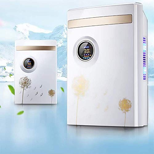 Electric Dehumidifier for Home, Purifying Air 1500ml (50 oz) Capacity, Quiet Safe Dehumidifiers for Apartment, Bedroom, Bathroom, RV, Closet, Auto Shut Off
