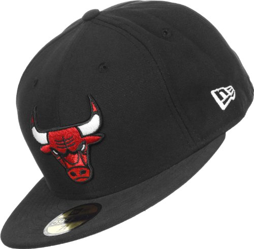 New Era - Casquette Fitted Homme Chicago Bulls 59Fifty Seasbas - Taille 7 3/8