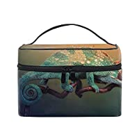 レディースカメレオン 小物入れケース 化粧ポーチ 小物用収納ポーチ 化粧品収納袋
