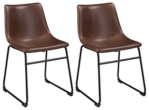 Ashley Furniture Signature Design - Centiar Dining Room Chair - Two-Tone Brown