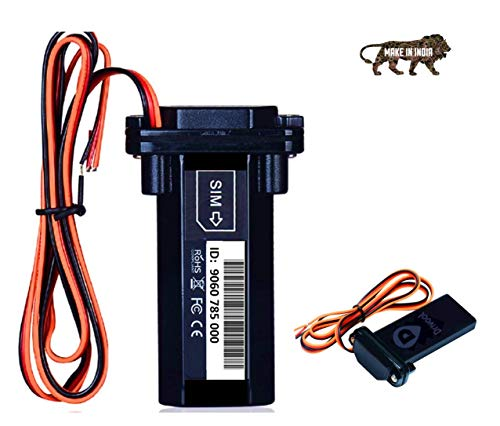 Drivool 890-IN (Make in India) GPS Tracker for All Vehicles, Waterproof, Real-time Locator with Software and Web Apps.