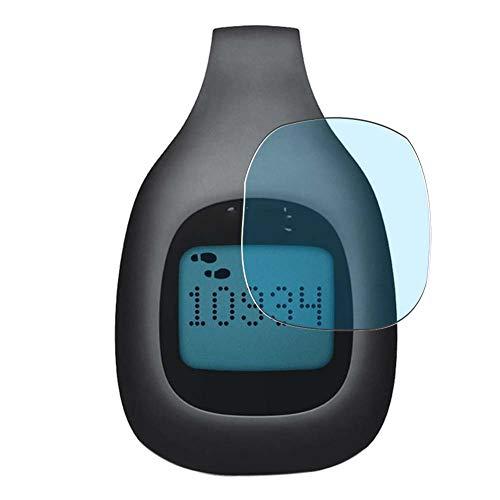 Vaxson 3 Stück Anti Blaulicht Schutzfolie, kompatibel mit Fitbit Zip smartwatch Smart Watch, Bildschirmschutzfolie TPU Folie Displayschutz [nicht Panzerglas Hülle Hülle ]