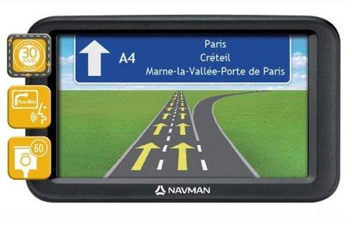 Navman F610 Europe - Navegador GPS con mapa de 23 países de Europa (pantalla de 5