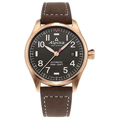 Alpina Geneve STARTIMER Pilot AL-525G3S4 Reloj Automático para Hombres Fabricado en Suiza
