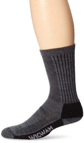 Wigwam Men's Merino Trailblaze Pro Socks,Charcoal,Large /shoe Size:Men's 9-12,Women's 10-13