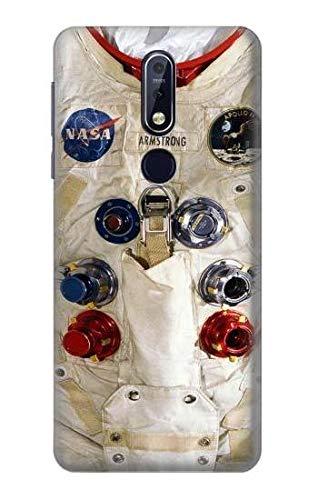 Innovedesire Neil Armstrong White Astronaut Space Suit Hülle Schutzhülle Taschen für Nokia 7.1