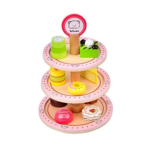 kids toys GCX Juego de juguetes de cocina, utensilios de cocina, juguetes de cocina, juguetes de cocina para chica, utensilios de cocina de postre de corte de torta de cumpleaños exquisito
