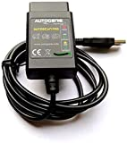 Autogenie Autoscan Pro USB ECHTZEIT-Daten OBD2 Diagnosegerät - USB Kompatibel mit windows Notebook Laptop PC Fehler Löschen Lesen PKW Kfz Eobd Can-Bus Code-Scanner