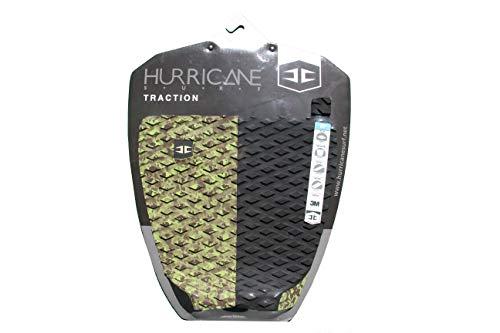 HURRICANE Typhoon - Almohadilla para Tabla de Surf, Camo/Black