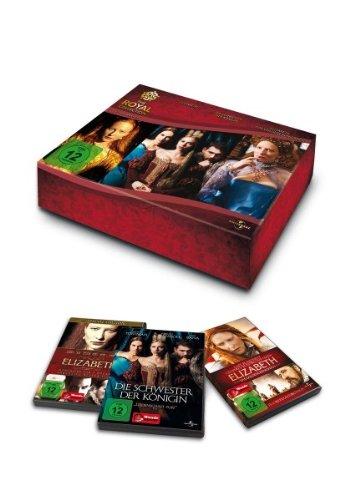 Royal Collection: Elizabeth / Elizabeth - das goldene Königreich / Die Schwester der Königin [3 DVDs]