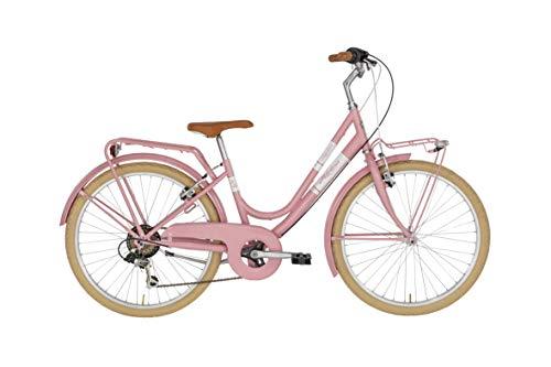 Alpina Bike 24 Zoll Kinderrad Mädchen Viscontea Milly 6 Gänge Rosa 40 cm Rahmengröße