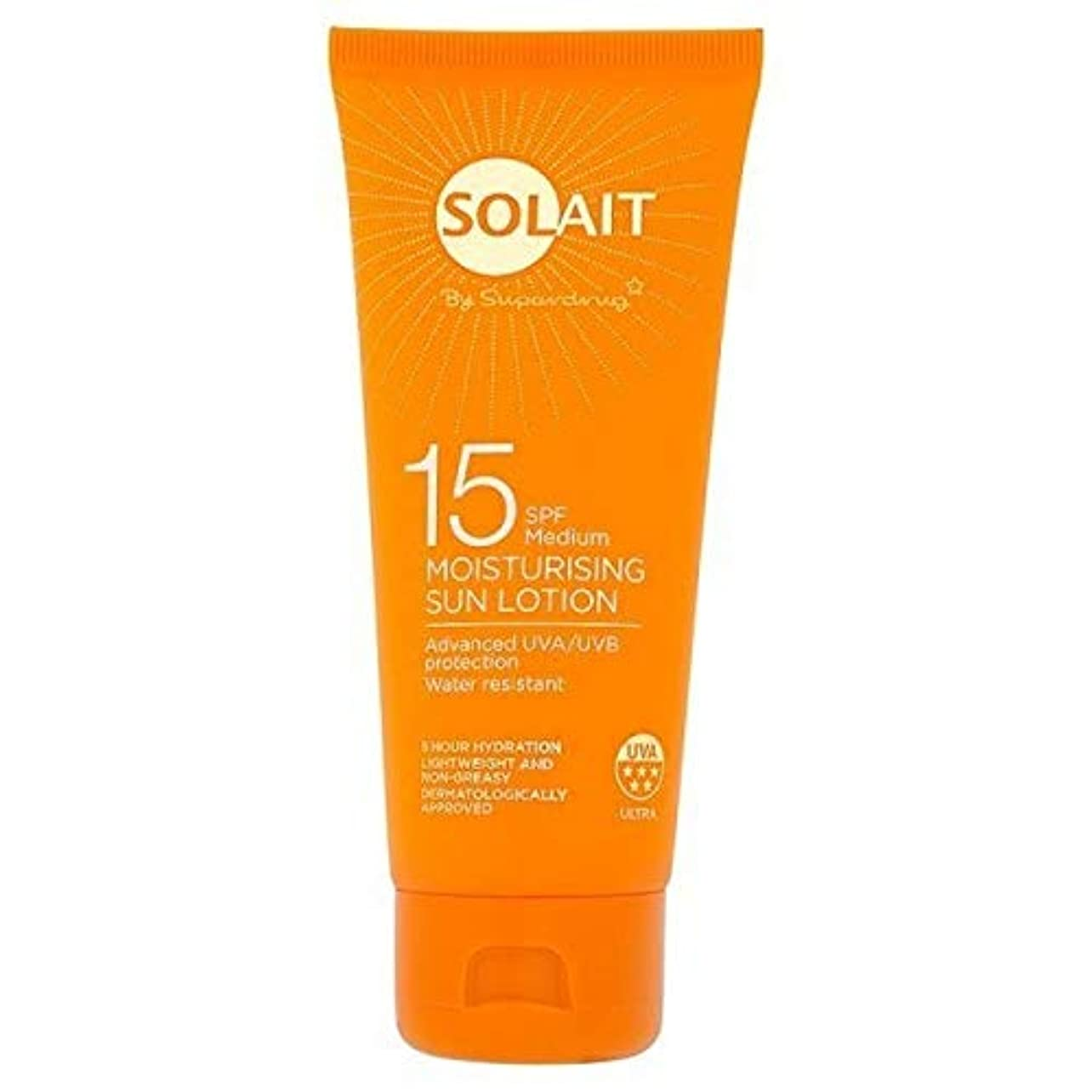 飛躍チャールズキージングピーブ[Solait] Solait日クリームミニSpf15の100ミリリットル - Solait Sun Cream Mini SPF15 100ml [並行輸入品]